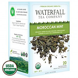 organic moroccan mint tea