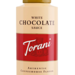 Torani white chocolate sauce